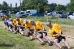 Tug-of-war team takes the strain